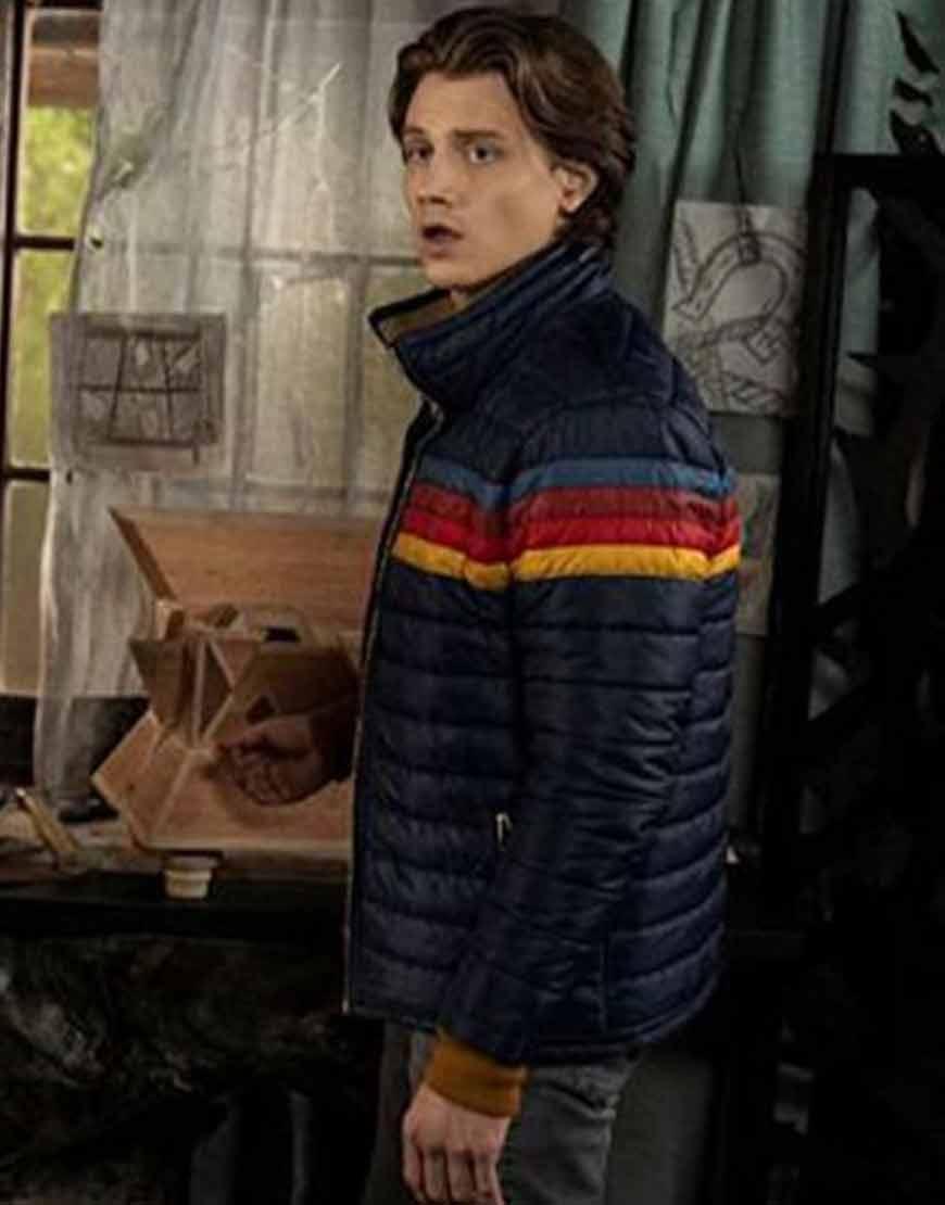 Alex-Saxon-TV-Series-Nancy-Drew-Ace-Rainbow-Puffer-Jacket