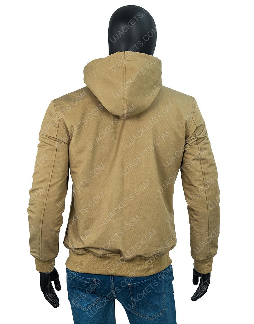 Arthur Fleck Joker Brown Hooded Jacket