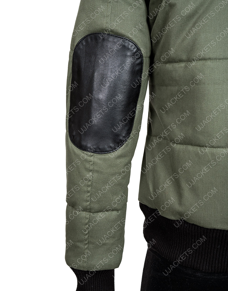 Chicago P.D. Ep19 Tracy Spiridakos Bomber Hailey Upton Puffer Jacket