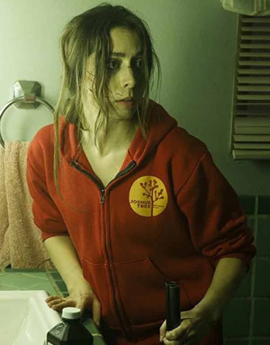 Cristin-Milioti-Made-For-Love-Red-Hoodie