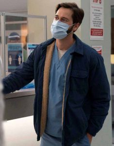 Dr.-Max-Goodwin-New-Amsterdam-Ryan-Eggold-Blue-Jacket