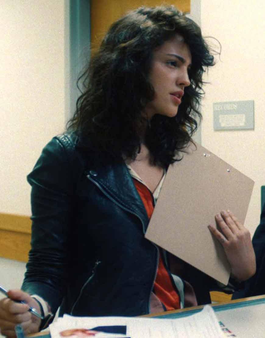 Fran-I-Care-a-Lot--Black-Leather-Eiza-Gonzalez-Jacket