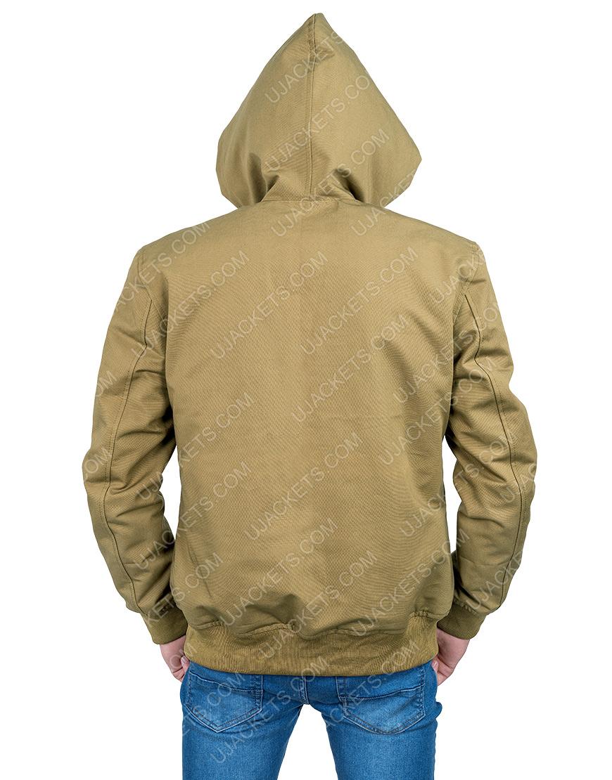 Joker Arthur Fleck Brown Hooded Jacket