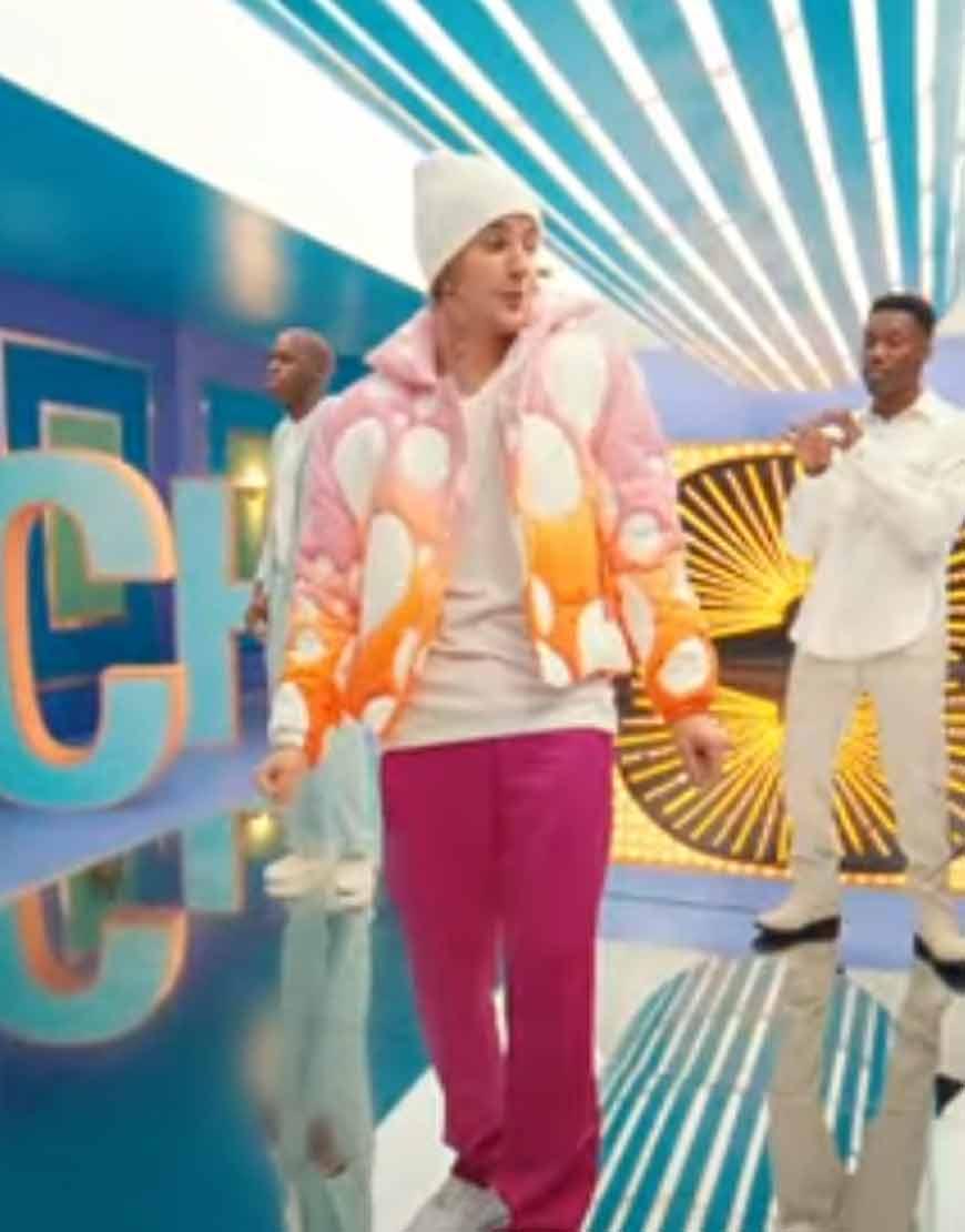 Justin-Bieber-Peaches-Puffer-Jacket