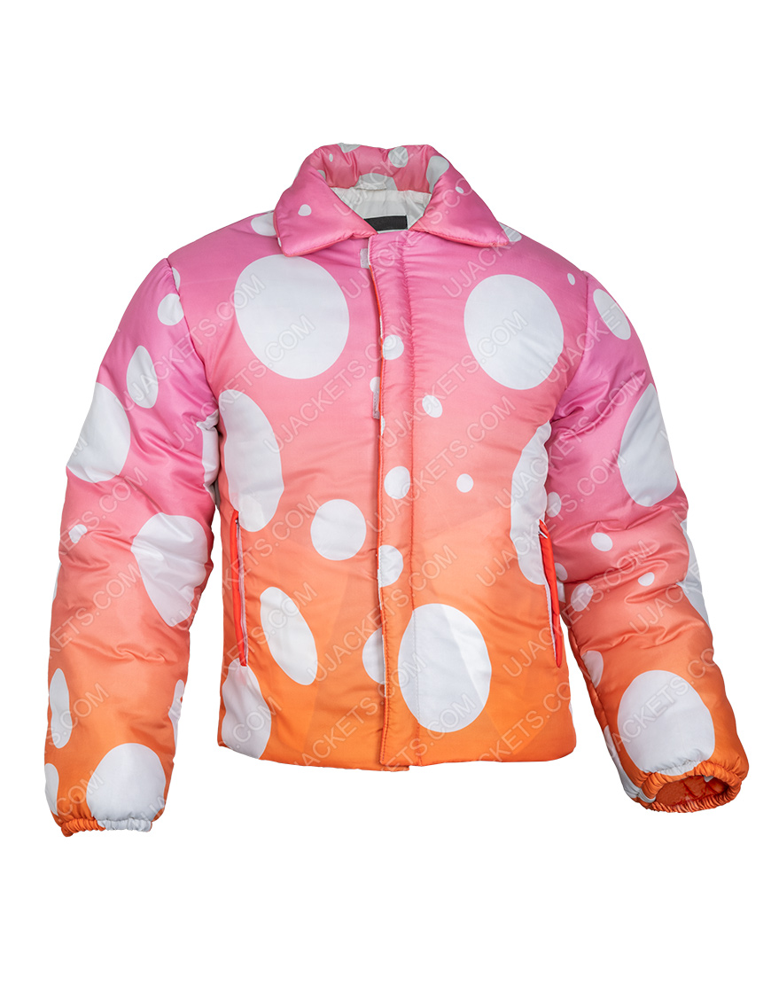 Justin Bieber Video Song Peaches 2021 Two-Tone Jacket