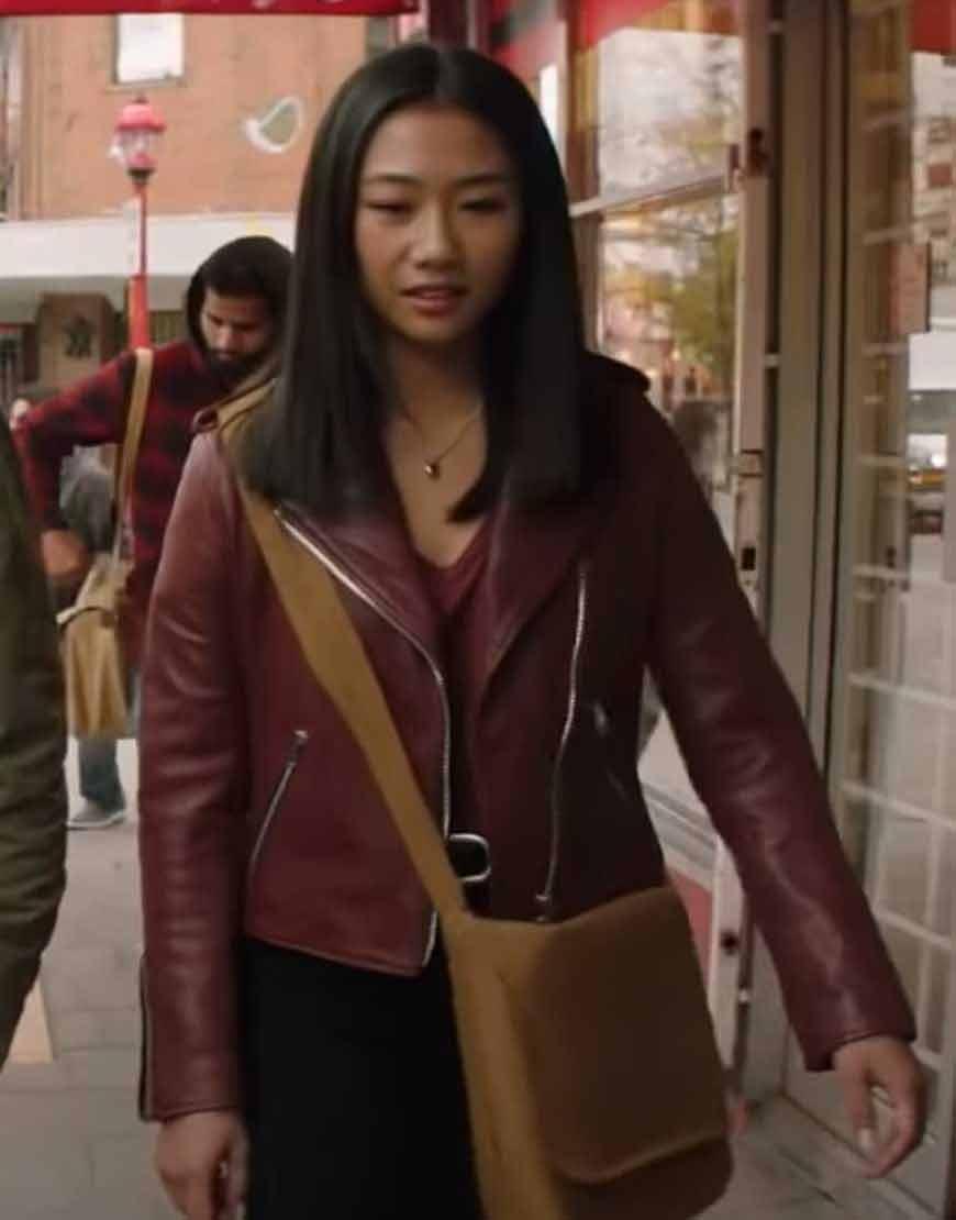 Kung-Fu-2021-Olivia-Liang-Leather-Jacket
