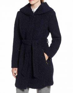 Legacies-S03-Hope-Mikaelson-Navy-Blue-Woolen-Coat