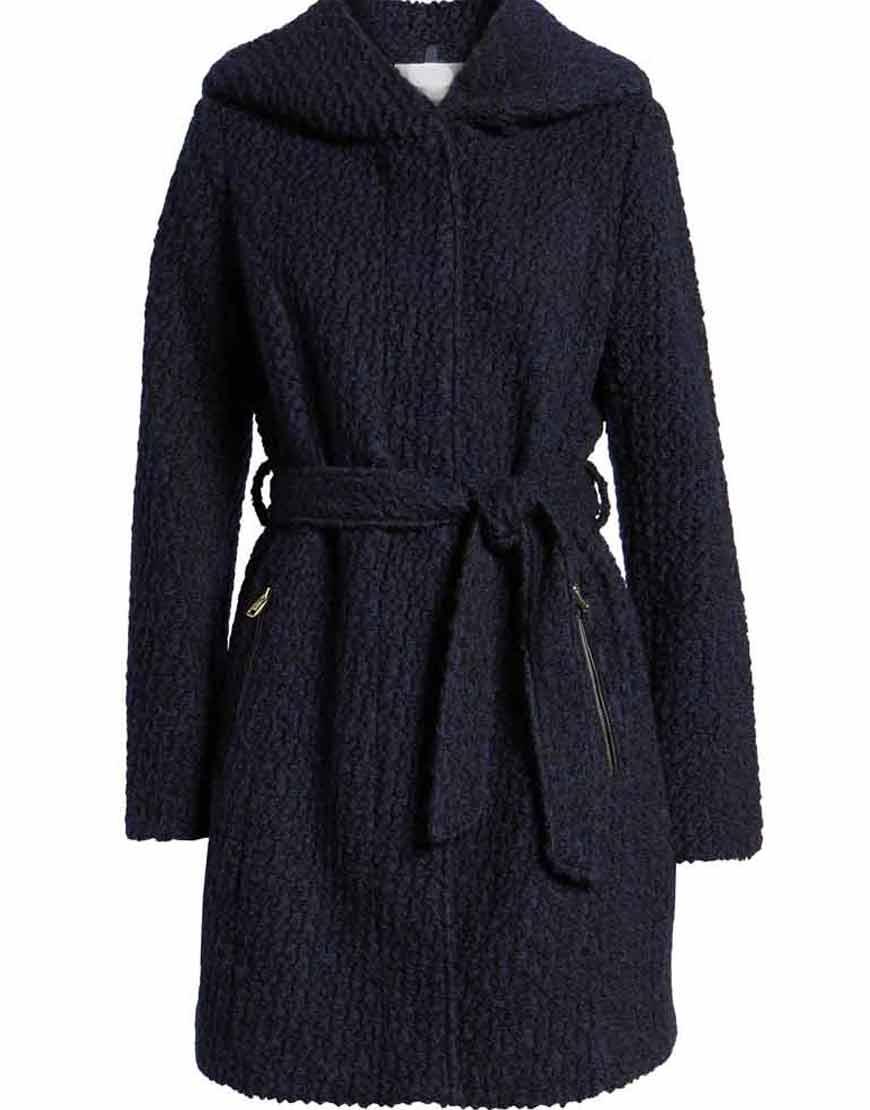 Legacies-S03-Hope-Mikaelson-Navy-Woolen-Coat