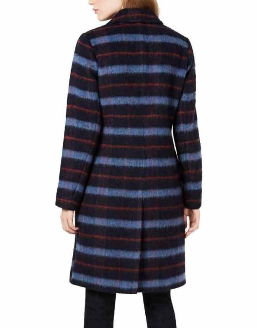 Legacies-S03-Lizzy-Saltzman-Wool-blend-Blue-Plaid-Coat