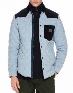 Legacies-S03-MG-Blue-Quilted-Jacket