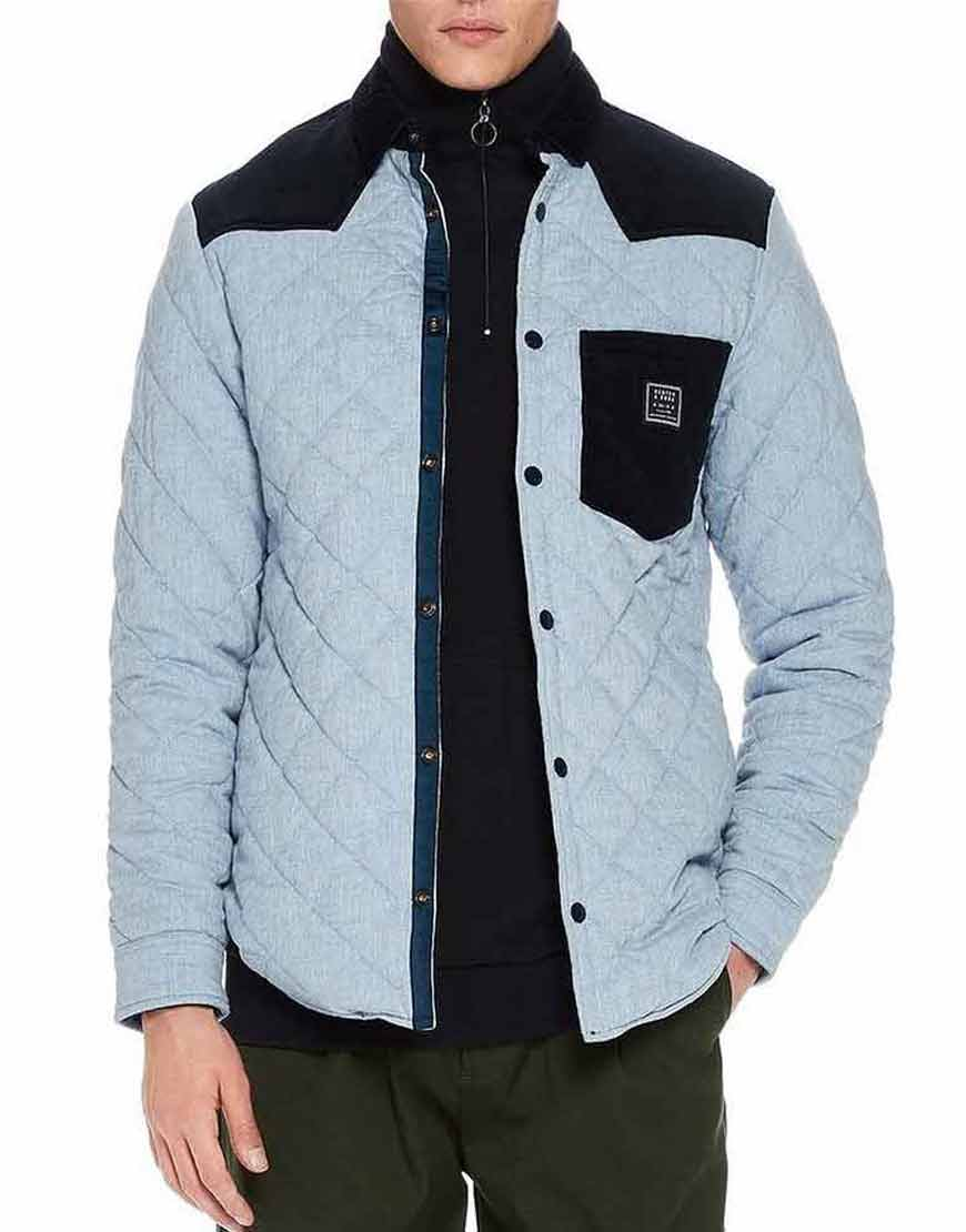 Legacies-S03-MG-Blue-Quilted-Jacket