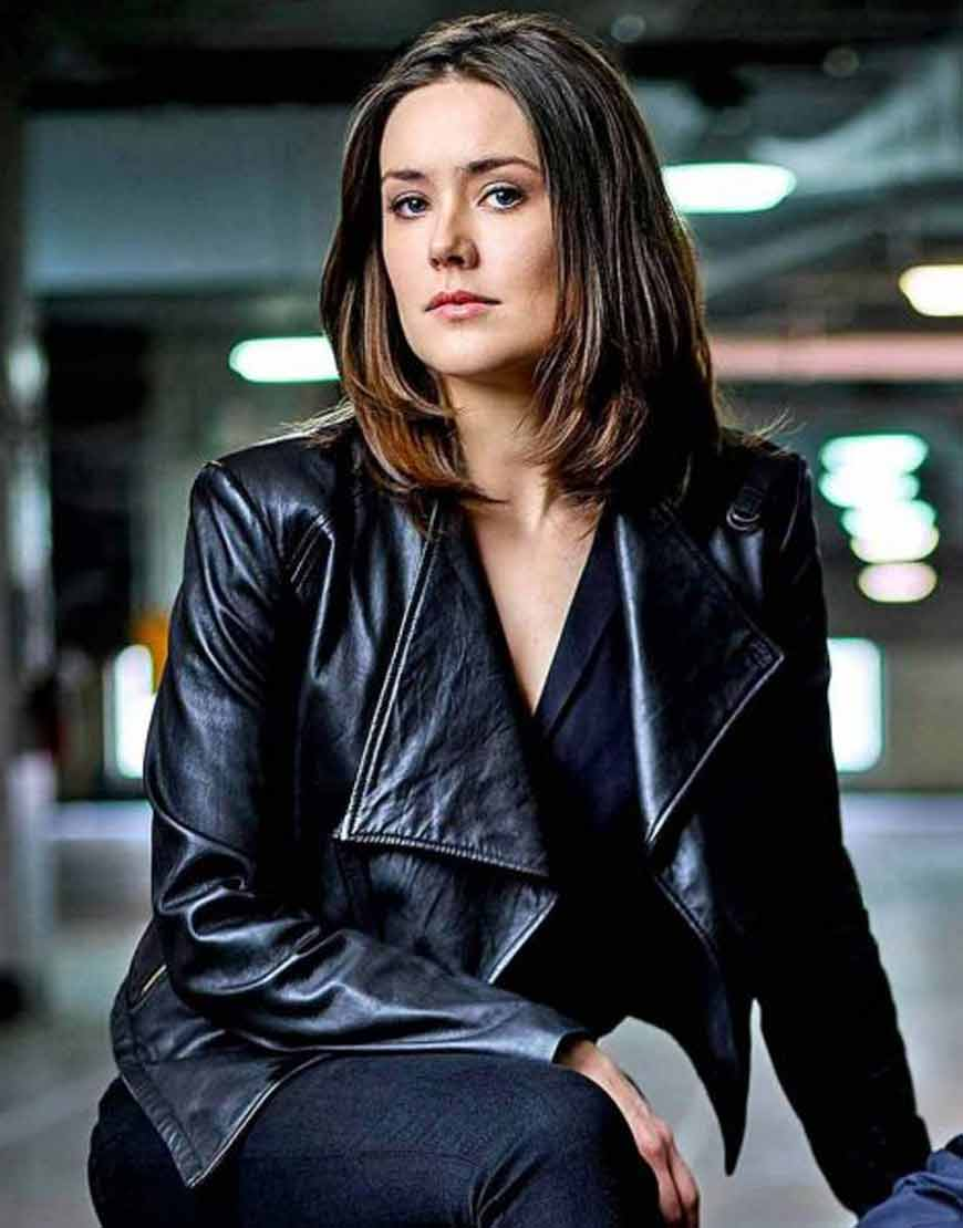 Megan-Boone-The-Blacklist-Black-Leather-Jacket