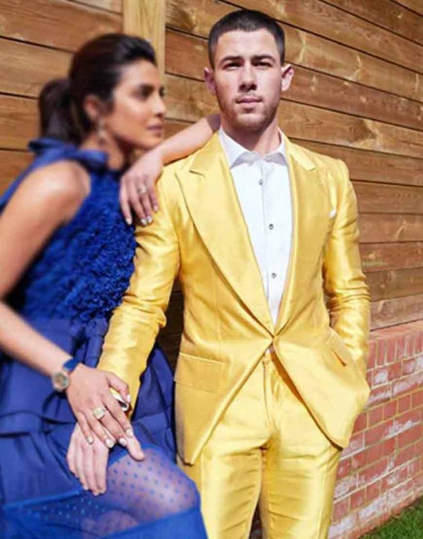 Nick-Jonas-Shinny-Yellow-Tuxedo-Suit