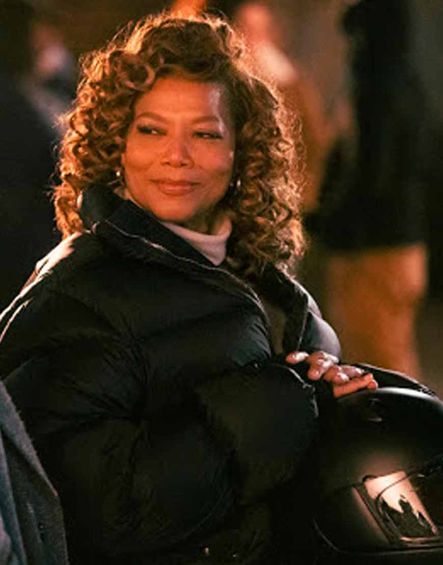 Queen-Latifah-The-Equalizer-Robyn-McCall-Black-Puffer-Jacket