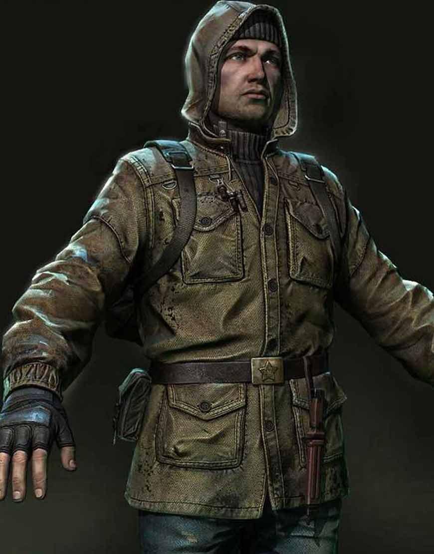 S.T.A.L.K.E.R.-2-Rookie-Stalker-Hooded-Leather-Jacket