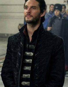 Shadow-and-Bone-2021-General-Kirigan-Black-Long-Coat