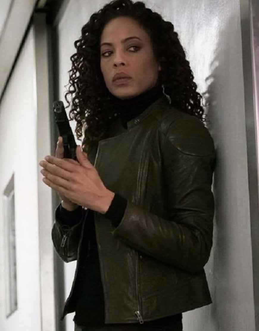 The-Blacklist-S03-Nez-Rowan-Green-Leather-Jacket
