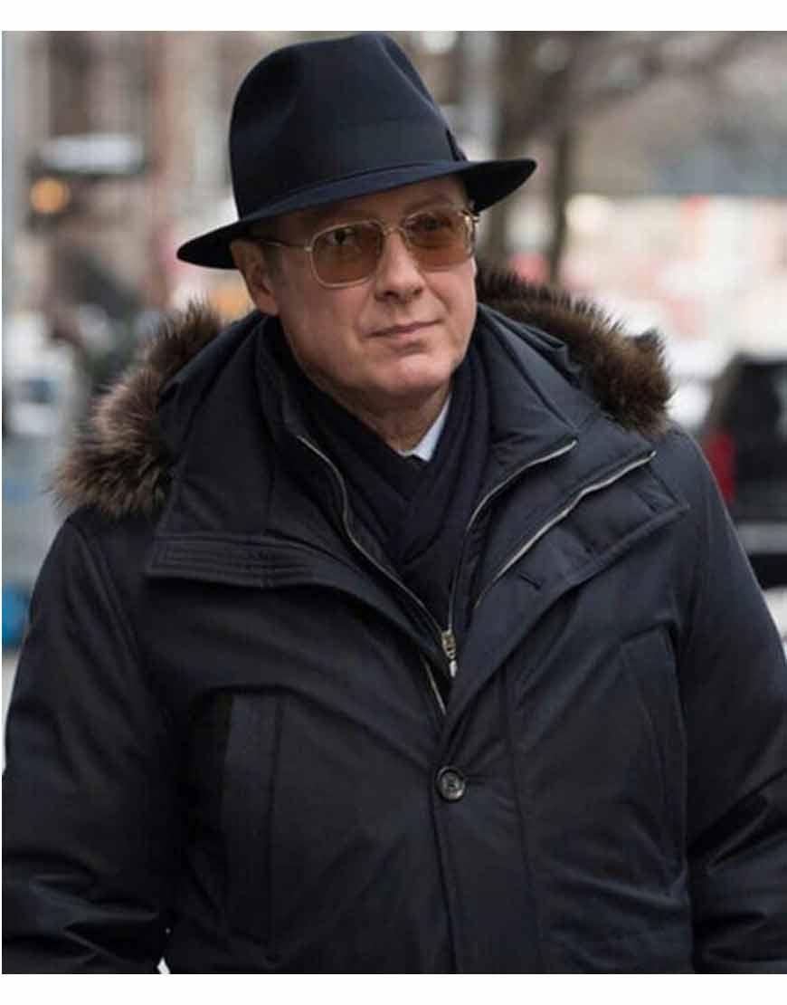 The-Blacklist-S08-James-Spader-Black-Coat-with-Fur-Collar
