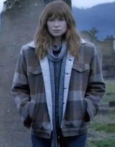 The-Gloaming-2021-Detective-Molly-McGee-Plaid-Shearling-Jacket
