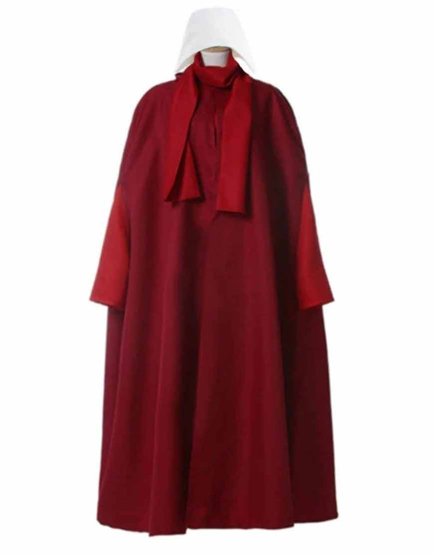 The-Handmaid-s-Tale-Cosplay-Costume-coat-dress-Elisabeth-Moss