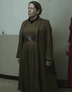 The-Handmaid's-Tale-S04-Ann-Dowd-Brown-Long-Trench-Coat