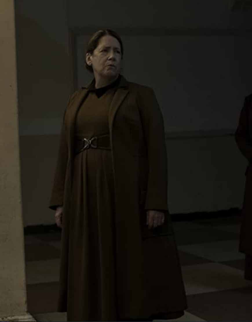 The-Handmaid's-Tale-S04-Ann-Dowd-Brown-Trench-Coat