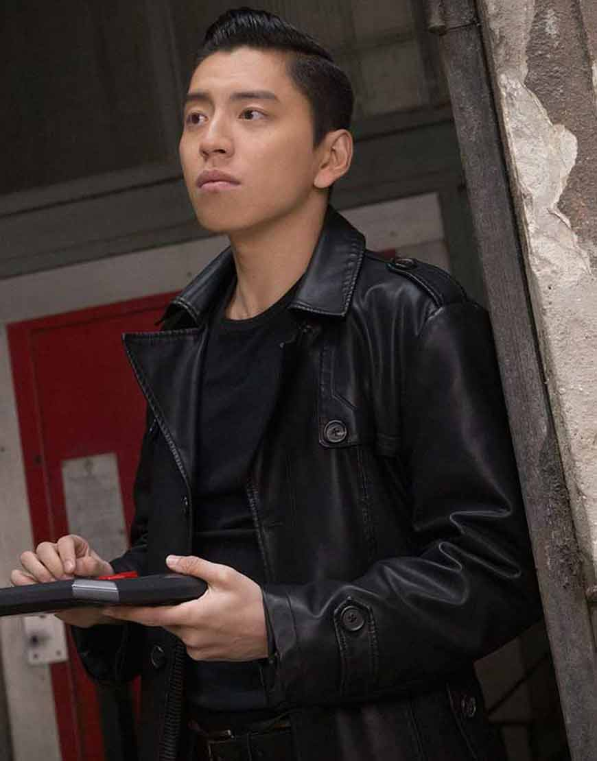 The-Rookies-2021-Zhao-Feng-Leather-Coat