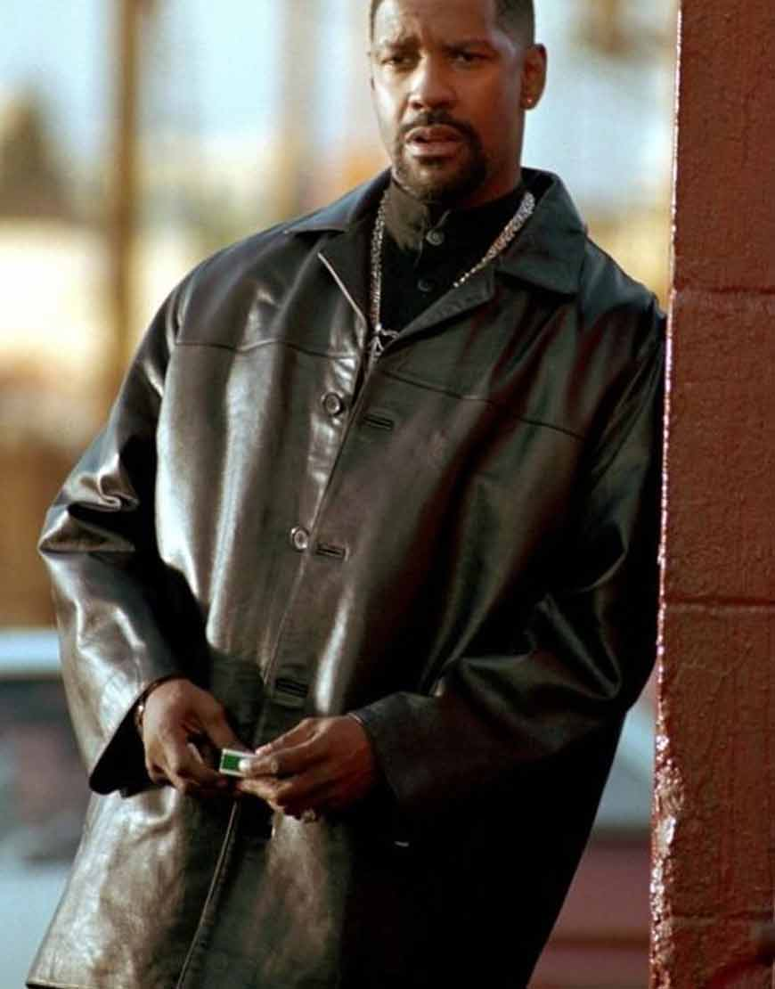 Training-Day-Denzel-Washington-Black-Leather-Coat