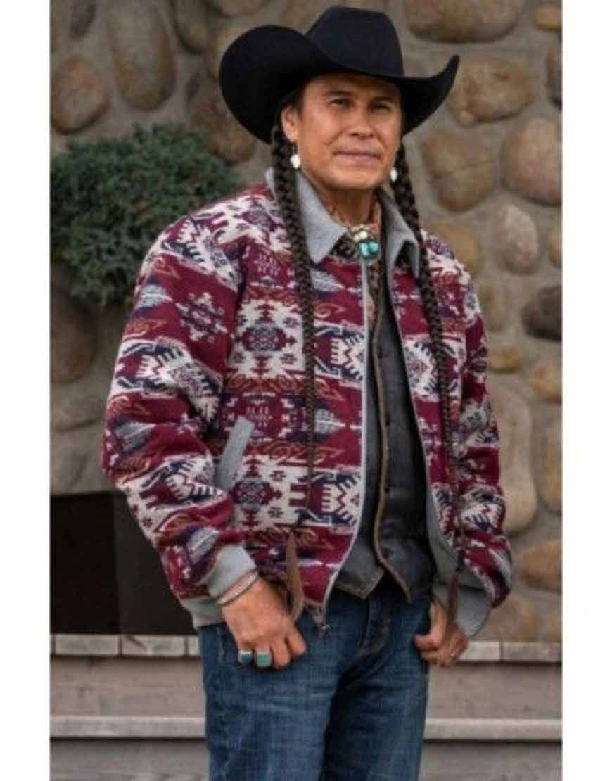 Yellowstone-Season-4-Moses-Brings-Plenty-Jacket