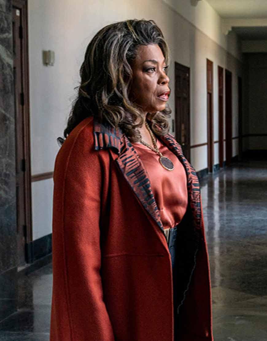 Your-Honor-2021-Lorraine-Toussaint-Brown-Coat
