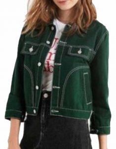 9-1-1-May-Grant-Green-Cotton-Jacket