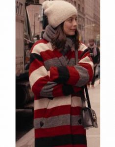 Alessandra-Mastronardi-Master-Of-None-S03-Striped-Coat