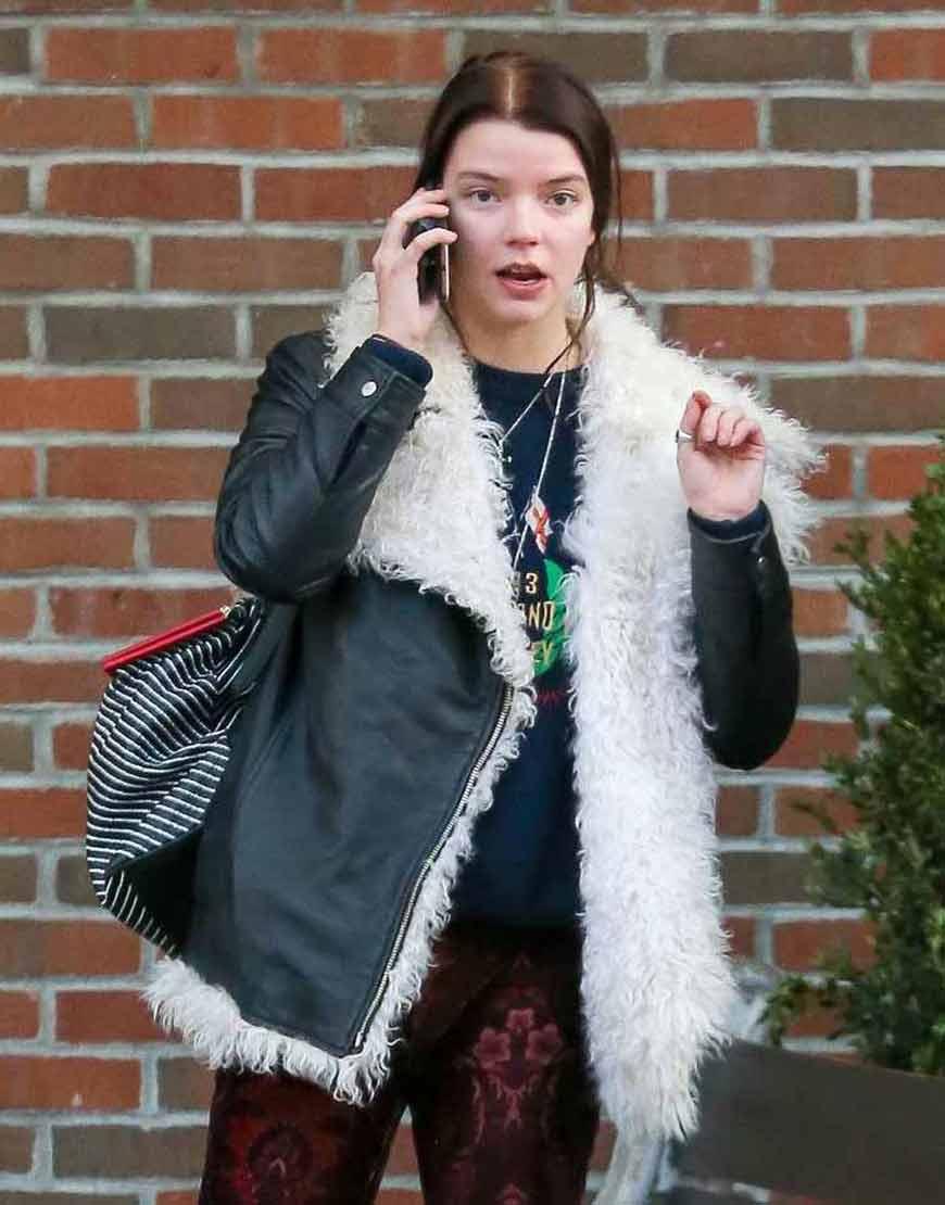 Anya-Taylor-Joy-Fur-Jacket