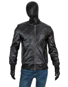 How To Get Away With Murder Connor Walsh Black Bomber Jacket