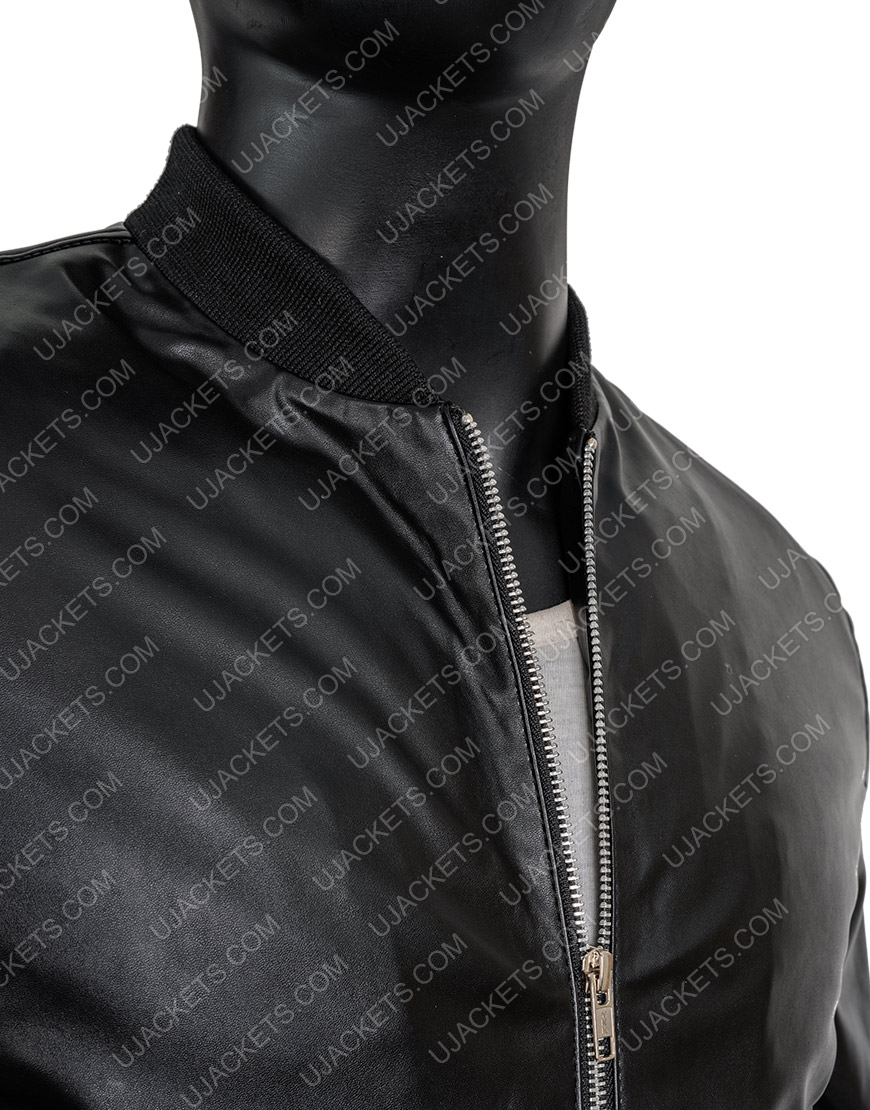 How To Get Away With Murder Jack Falahee Connor Walsh Black Bomber Jacket