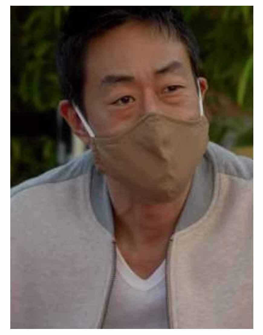 Kenneth-Choi-TV-Series-9-1-1-Howie-Han-Colorblock-Bomber-Jacket
