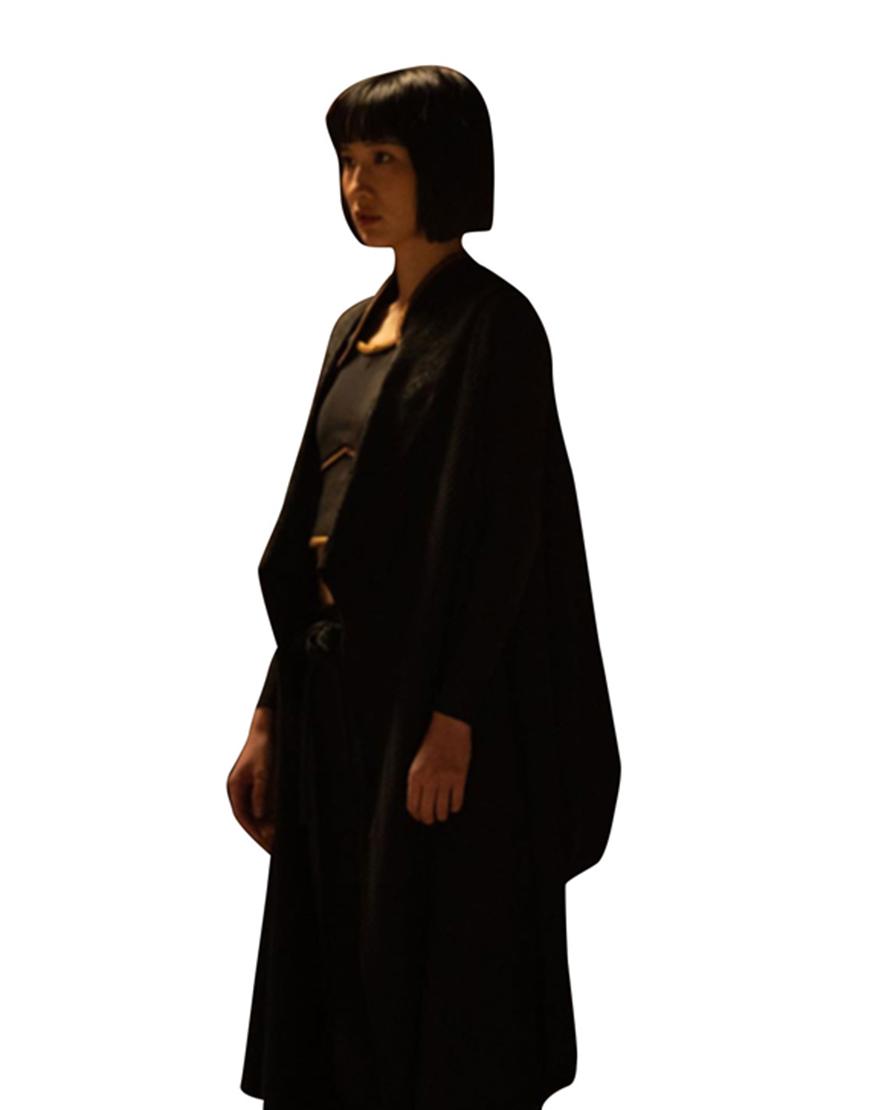 Meng'er Zhang Shang-Chi and the Legend of the Ten Rings Xialing Trench Coat