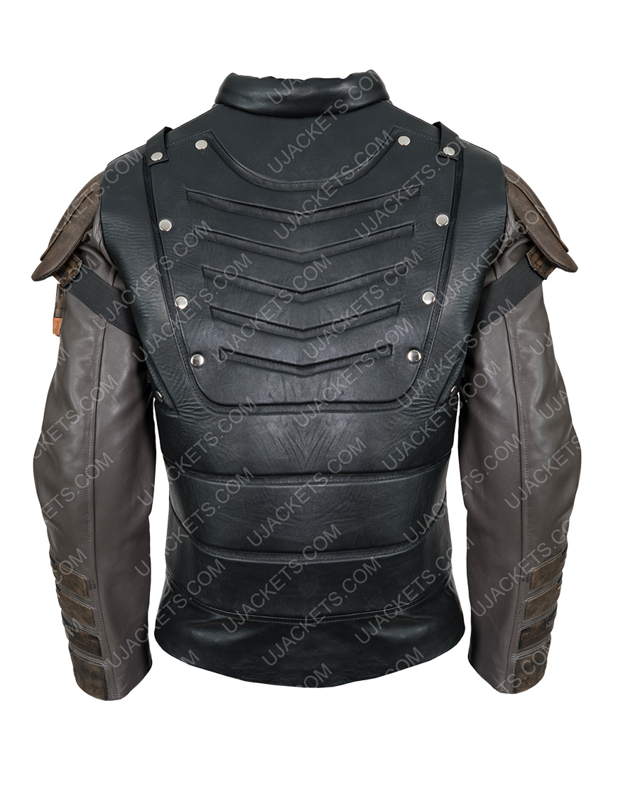 Pete Davidson The Suicide Squad Leather Blackguard Jacket