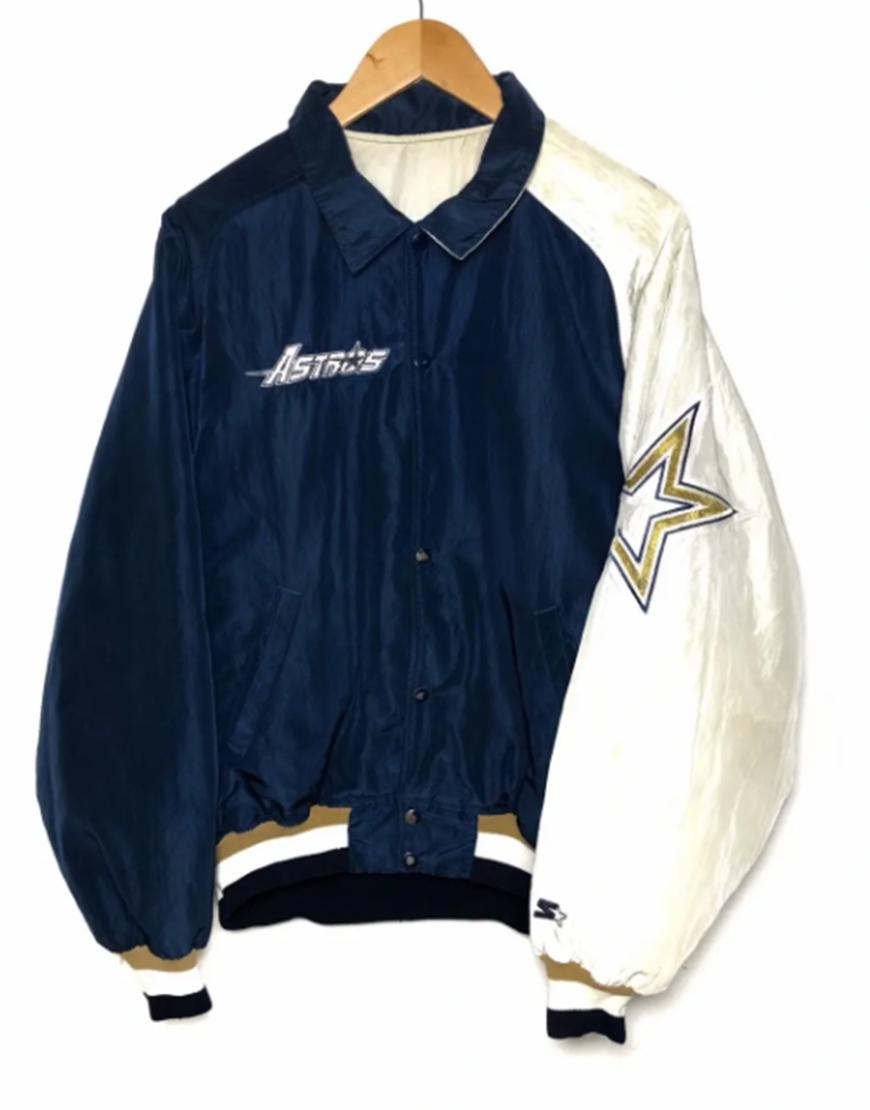 Selena Quintanilla Houston Astrodome 1994 Blue Bomber Jacket