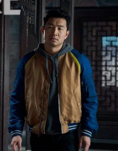 Simu Liu Shang-Chi And The Legend Of The Ten Rings Bomber Jacket