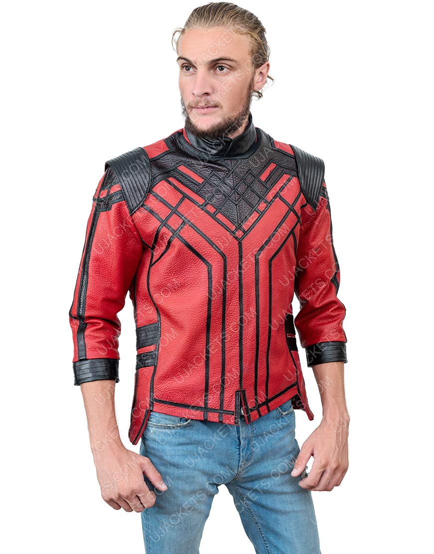 Simu Liu Shang-Chi And The Legend Of The Ten Rings Leather Jacket
