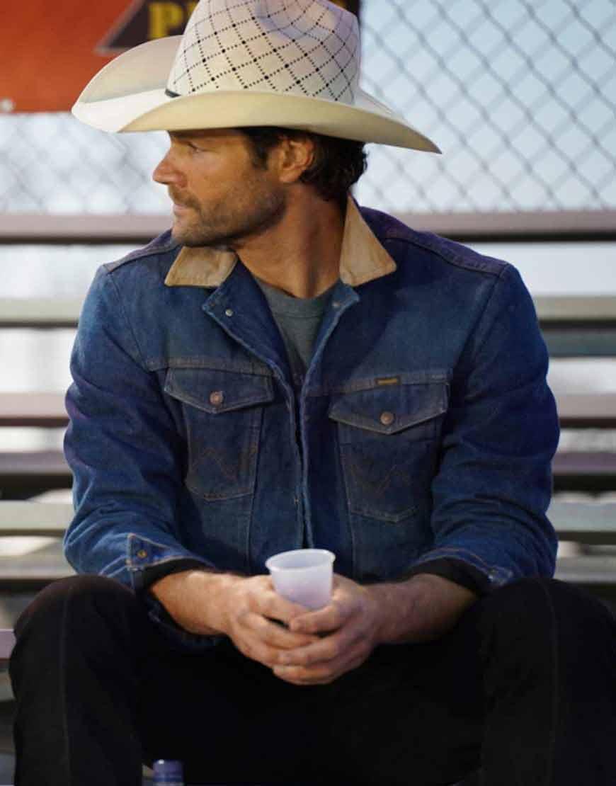 Walker-2021-Jared-Padalecki-Denim-Jacket