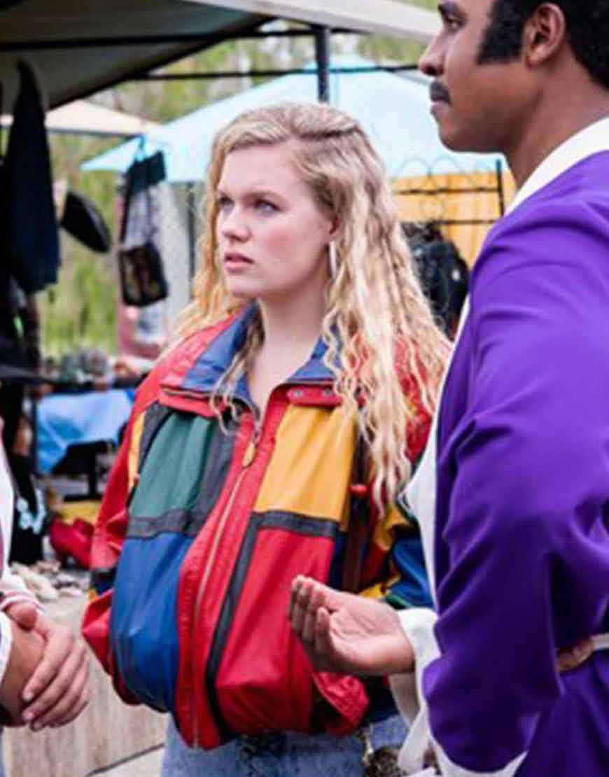 young-rock-2021-lexie-duncan-colorful-jacket