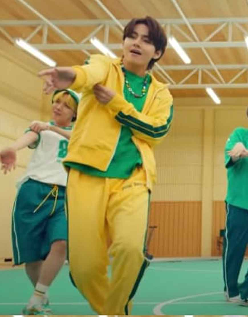 BTS-Butter-V's-Yellow-Tracksuit
