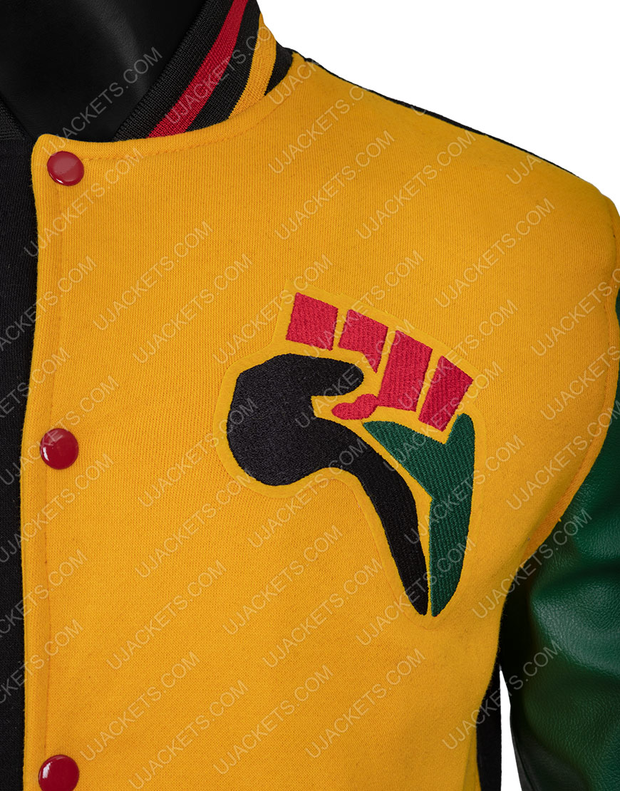 Donovan Mitchell HBCU 2021 Letterman Jacket For Men