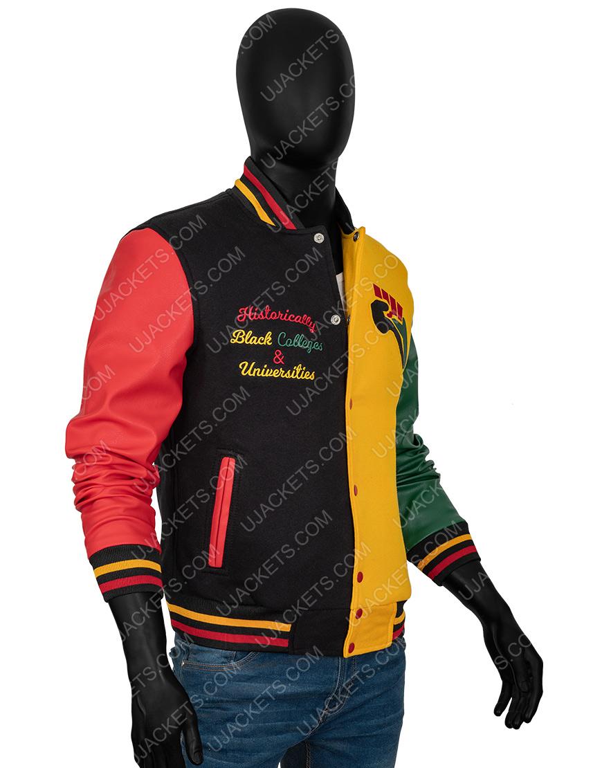 Donovan Mitchell HBCU Pride 2021 Letterman Jacket For Men