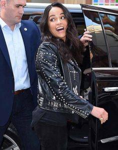F9-New-York-City-Premiere-Michelle-Rodriguez-Black-Jacket