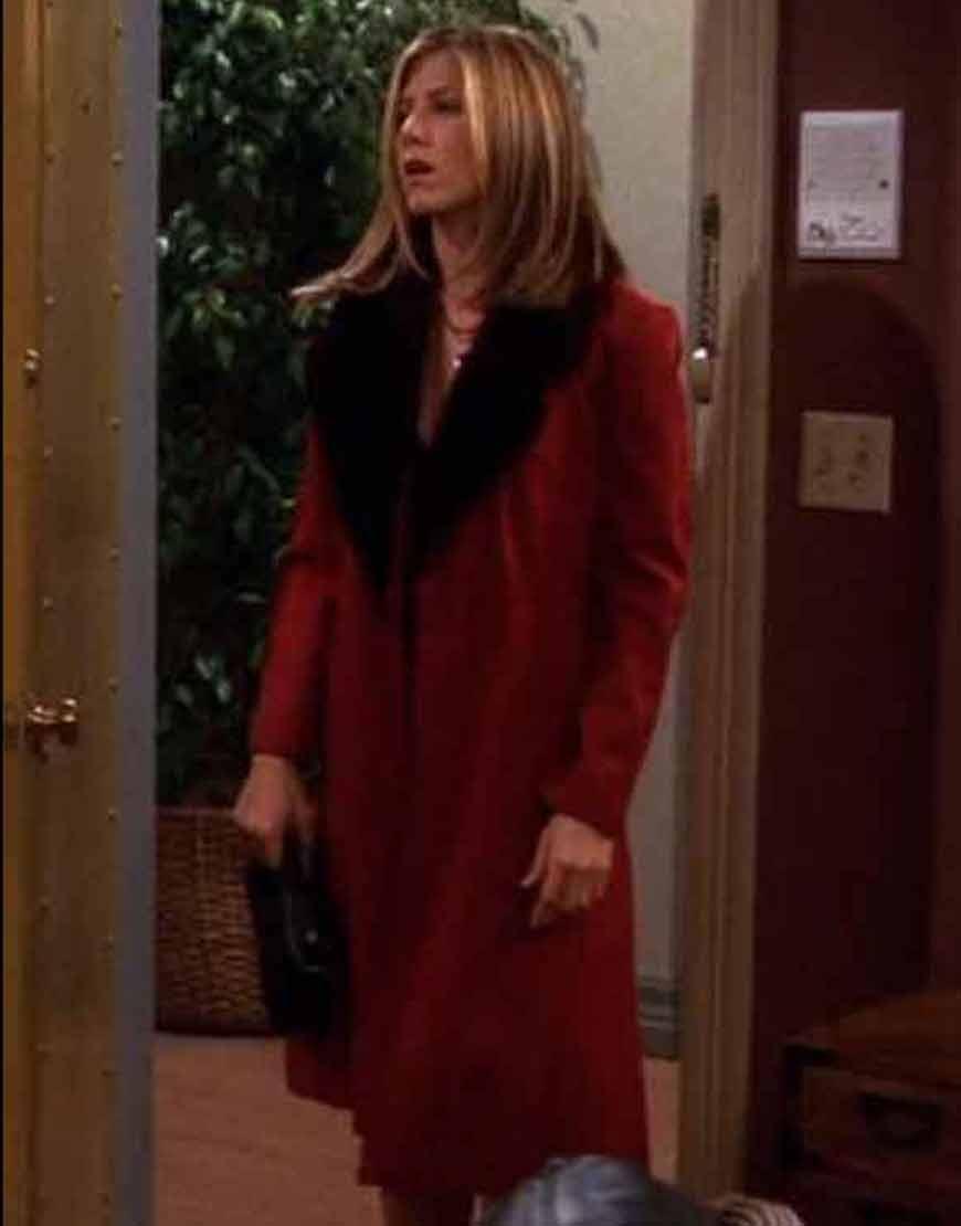 FRIENDS-S08-Jennifer-Aniston-Rachel-Green-Fur-Collar-Coat