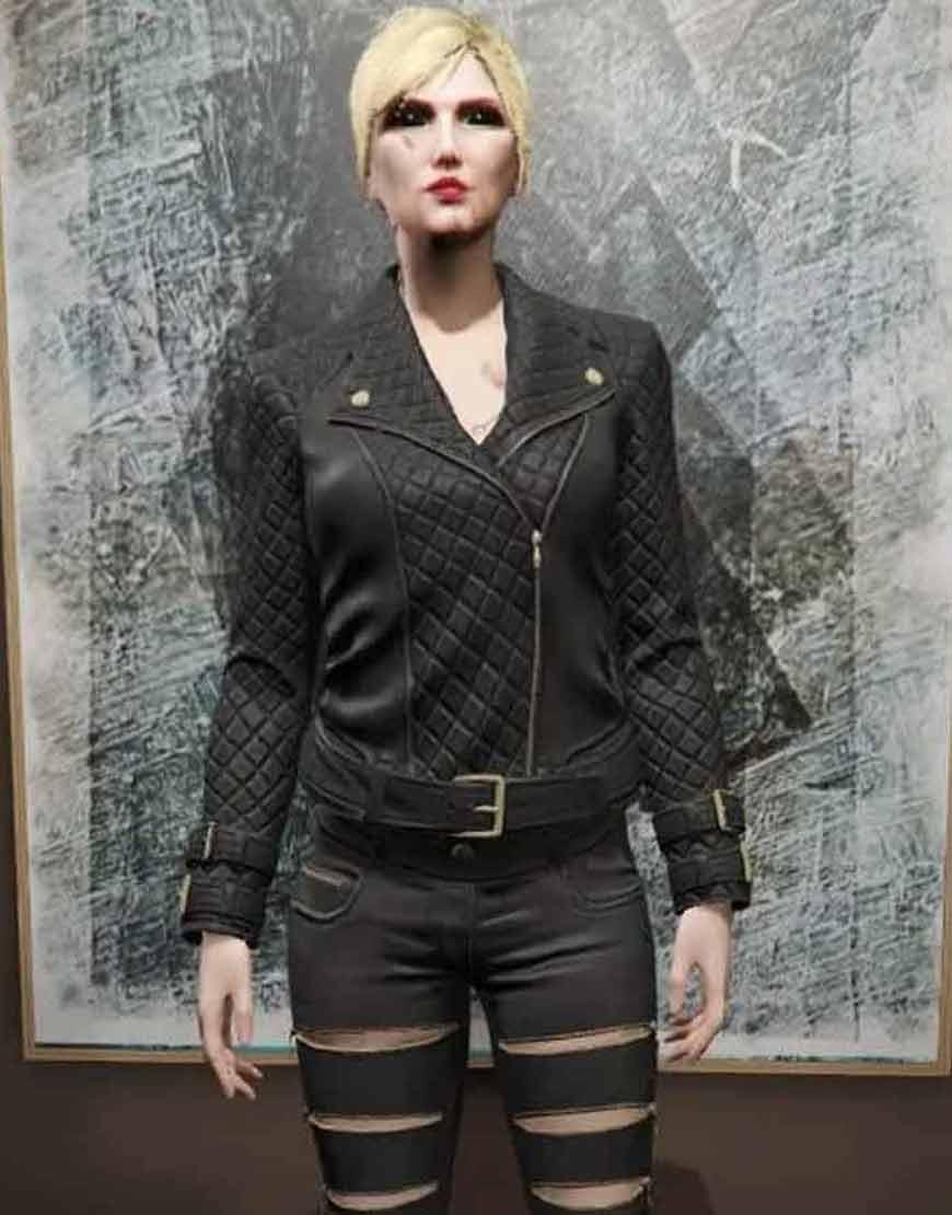 GTA-6-Female-Protagonist-Black-Leather-Jacket