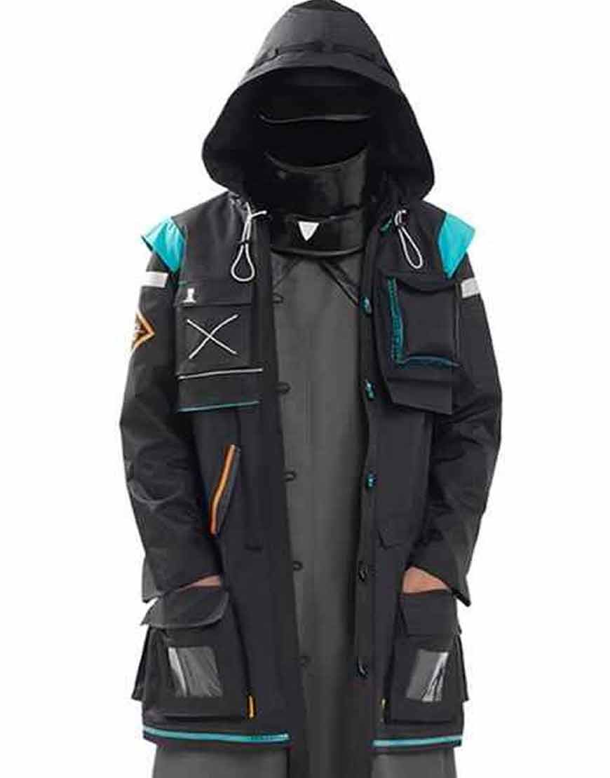 MobileGame-Arknights-Doctor-Coat-With-Hood